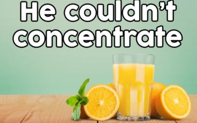 You can C the benefits of orange juice
