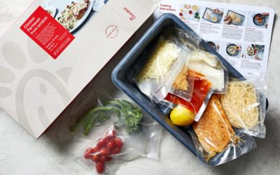 "Chick-fil-A is bringing their Chick-fil-""A-game"" with their new meal kit"