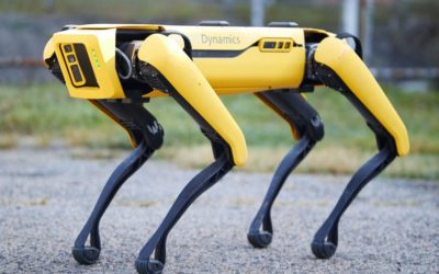 Singapore deploys a robot 'dog' to encourage social distancing