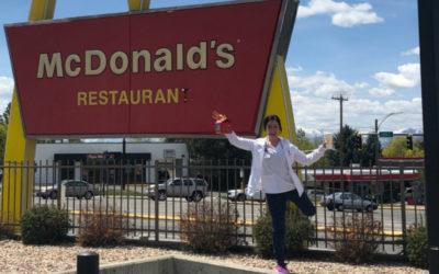 Ronald's not clowning around