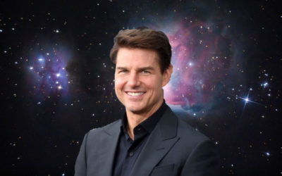A star among the stars: Tom Cruise's new movie will be filmed in space