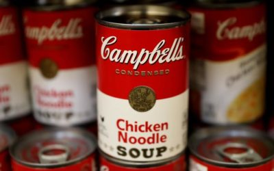 Campbell's future is looking Mmm Mmm Good