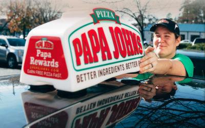 Papa John's made some dough