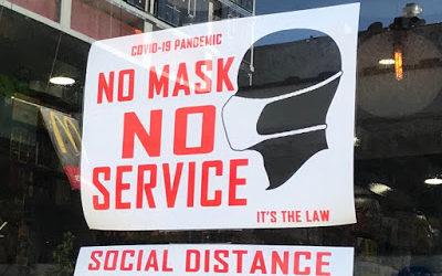 No shirt, no shoes, no mask, no service