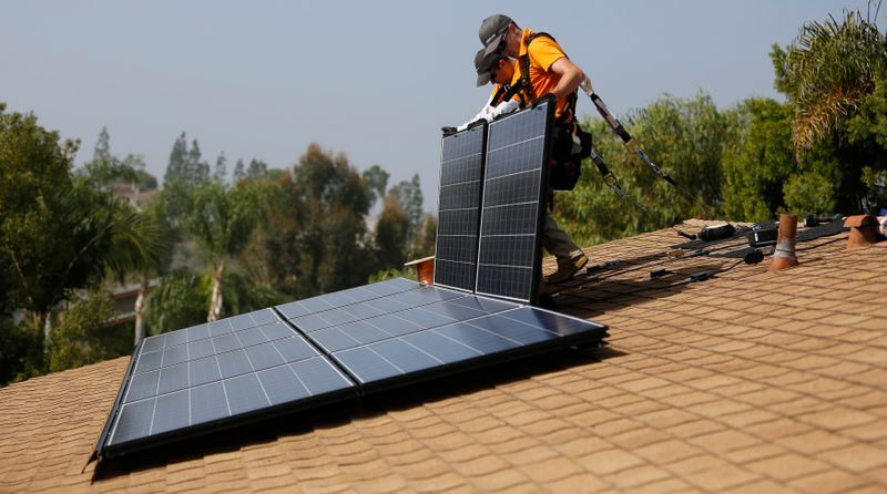 Solar panels…so hot right now