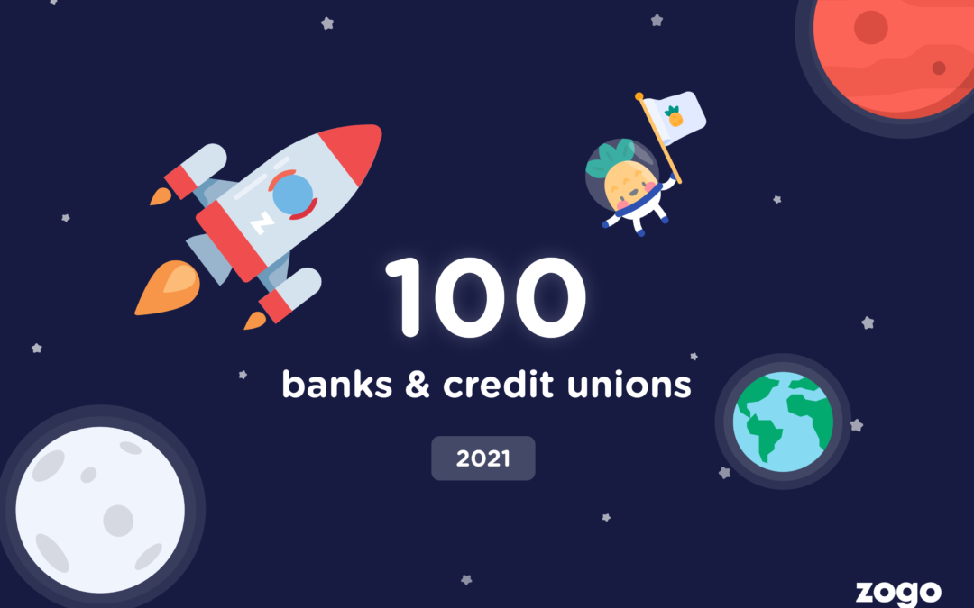 Zogo Hits 100 Financial Institution Partners